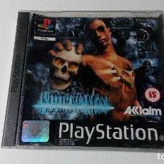 Videojuegos y Consolas: SHADOW MAN JUEGOS PS1 PSX PLAYSTATION 1 PLAY STATION ONE PAL ESPAÑOL. Lote 115631311