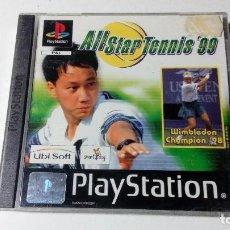 Videojuegos y Consolas: ALL STAR TENNIS 99 JUEGOS PS1 PSX PLAYSTATION 1 PLAY STATION ONE PAL ESPAÑOL. Lote 115631315