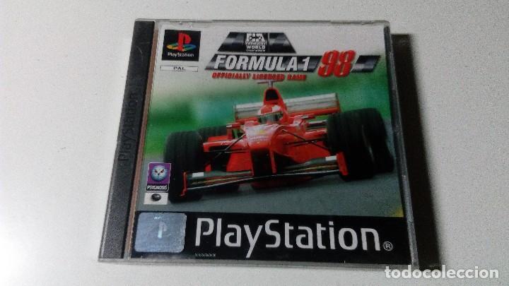 FORMULA 1 UNO 98 JUEGOS PS1 PSX PLAYSTATION 1 PLAY STATION ONE PAL ESPAÑOL (Juguetes - Videojuegos y Consolas - Sony - PS1)