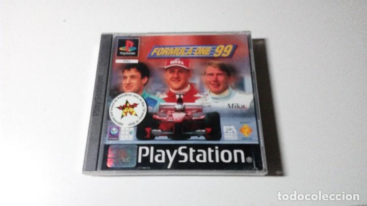 FORMULA ONE 1 99 JUEGOS PS1 PSX PLAYSTATION 1 PLAY STATION ONE PAL ALEMAN (Juguetes - Videojuegos y Consolas - Sony - PS1)