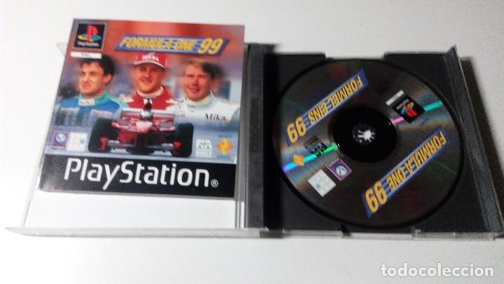 Videojuegos y Consolas: FORMULA ONE 1 99 JUEGOS PS1 PSX PLAYSTATION 1 PLAY STATION ONE PAL ALEMAN - Foto 2 - 115631363