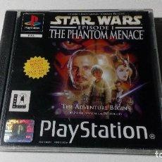 Videojuegos y Consolas: STARS WARS EPISODE I THE PHANTOM MENACE JUEGOS PS1 PSX PLAYSTATION 1 PLAY STATION ONE PAL INGLES. Lote 115631371