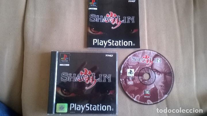 SHAOLIN PARA PS1 PS2 Y PS3!!! (Juguetes - Videojuegos y Consolas - Sony - PS1)