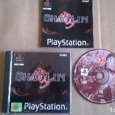 Videojuegos y Consolas: SHAOLIN PARA PS1 PS2 Y PS3!!!. Lote 115710963