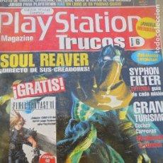 Videojuegos y Consolas: PLAYSTATION TRUCOS 6, GUIAS DE: SOUL REAVER, APE ESCAPE, SYPHON FILTER, GRAN TURISMO, C&C RED ALERT. Lote 115856599