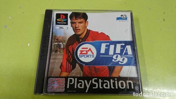 JUEGO PLAY STATION 1,FIFA 99 (Juguetes - Videojuegos y Consolas - Sony - PS1)