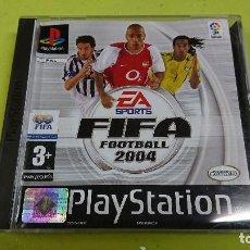 Videojuegos y Consolas: JUEGO PLAY STATION 1, FIFA FOOTBALL 2004. Lote 116115303
