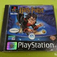 Videojuegos y Consolas: JUEGO PLAY STATION 1, HARRY POTTER Y LA PIEDRA FILOSOFAL . Lote 116116179