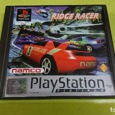 Videojuegos y Consolas: JUEGO PLAY STATION 1, RIDGE RACER. Lote 116116383