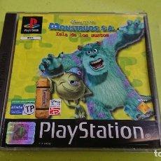Videojuegos y Consolas: JUEGO PLAY STATION 1, MONSTRUOS SA ISLA DE LOS SUSTOS . Lote 116120583