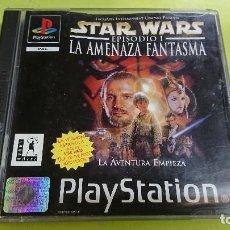 Videojuegos y Consolas: JUEGO PLAY STATION 1, STAR WARS LA AMENAZA FANTASMA . Lote 116126443