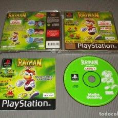 Videojuegos y Consolas: RAYMAN JUNIOR ( PRIMER CURSO PRIMARIA ) - PSX (PS1) - SLES 02798 - UBISOFT - 1ER. Lote 116703679
