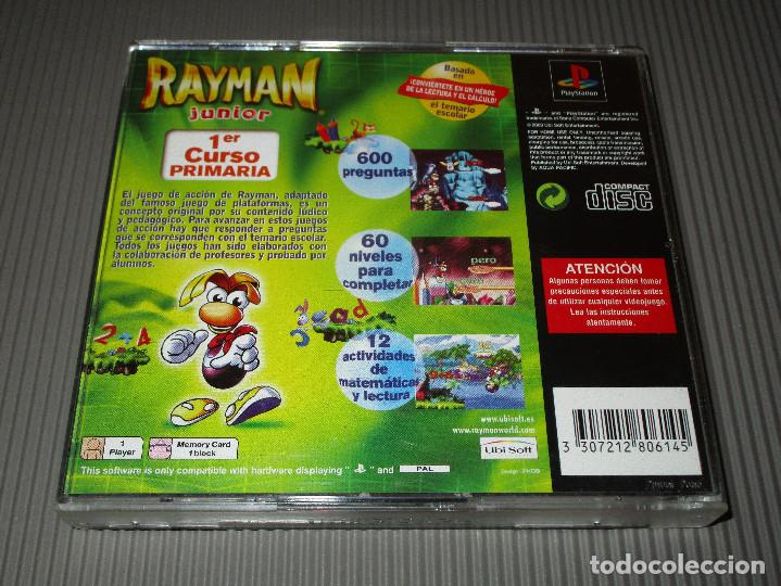 Videojuegos y Consolas: RAYMAN JUNIOR ( PRIMER CURSO PRIMARIA ) - PSX (PS1) - SLES 02798 - UBISOFT - 1ER - Foto 3 - 116703679