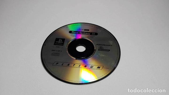 FINAL FANTASY IX ( 9) - PLATINUM CD 2 DE 4 (PLAYSTATION ONE-PSX -PAL- ESPAÑA) (Juguetes - Videojuegos y Consolas - Sony - PS1)