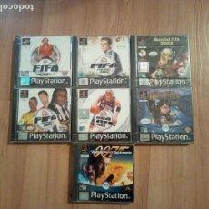 Videojuegos y Consolas: PACK 7 VIDEOJUEGOS PLAYSTATION NUEVOS. Lote 117808291