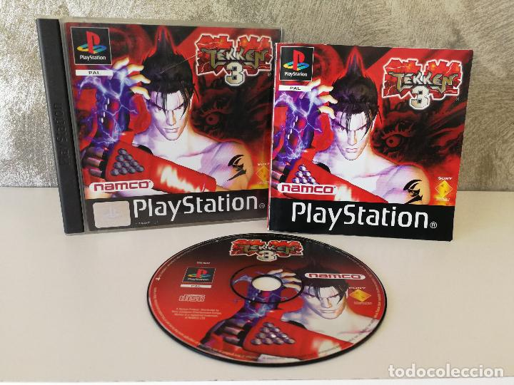 Tekken 3 Ps1 Psx Sold Through Direct Sale 118063115