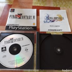 Videojuegos y Consolas: FINAL FANTASY VI - PLAYSTATION ( FALTA EL DISCO DEMO DE FINAL FANTASY X. Lote 119007115