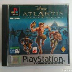 Videojuegos y Consolas: JUEGO ATLANTIS PLAYSTATION. Lote 119579599