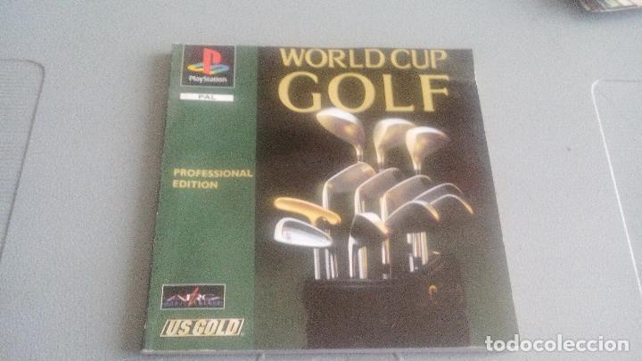 WORLD CUP GOLF PROFESSIONAL EDITION - PLAYSTATION ONE - PSONE - PS1 - MANUAL ESPAÑOL (Juguetes - Videojuegos y Consolas - Sony - PS1)