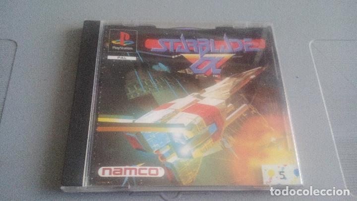 STARBLADE ALPHA - PLAYSTATION - PSONE - PS1 - JUEGO COMPLETO (Juguetes - Videojuegos y Consolas - Sony - PS1)