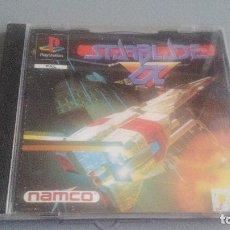 Videojuegos y Consolas: STARBLADE ALPHA - PLAYSTATION - PSONE - PS1 - JUEGO COMPLETO. Lote 119602883