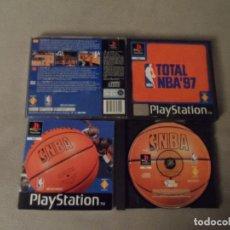 Videojuegos y Consolas: PS1 NBA TOTAL NBA 97 PAL ESP COMPLETO. Lote 119617939