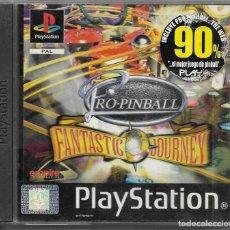 Videojuegos y Consolas: == P03 - PLAYSTATION - PRO PINBALL - FANTASTIC JOURNEY. Lote 119963923