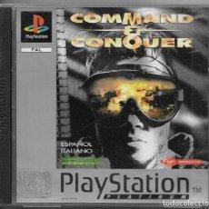 Videojuegos y Consolas: == P05 - PLAYSTATION - COMMAND & CONQUER . Lote 119966523
