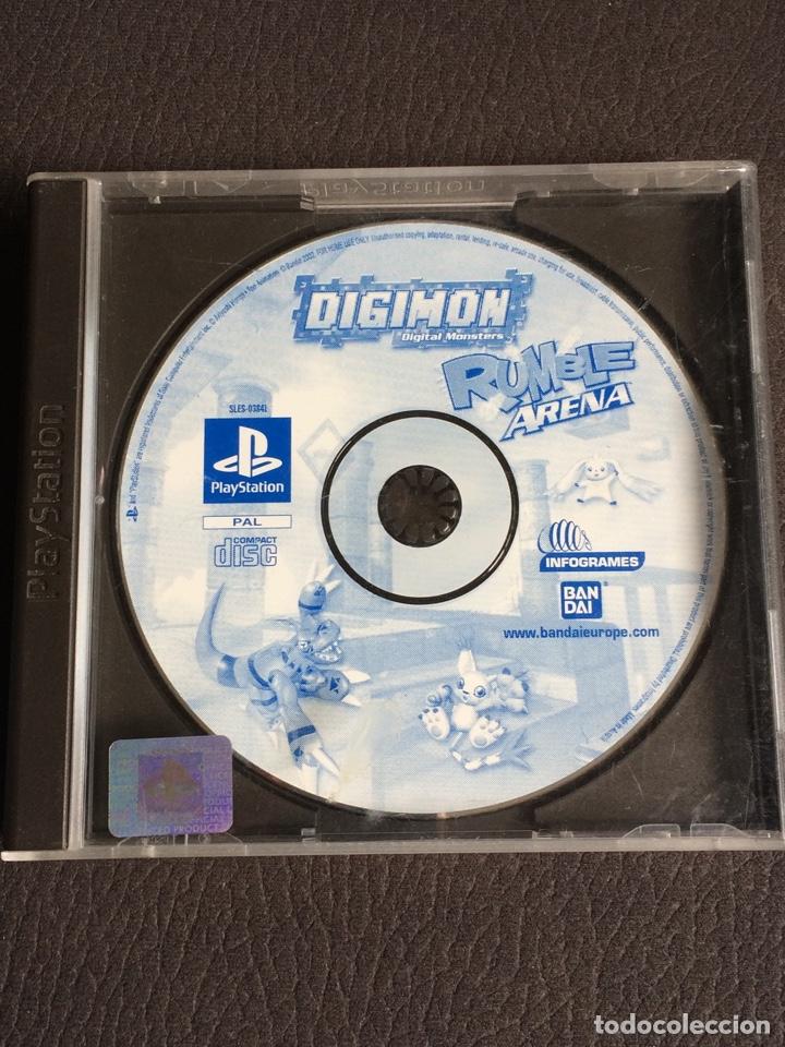 JUEGO DIGIMON DIGITAL MONSTERS RUMBLE ARENA - PS1 - PLAYSTATION 1 - SIN INSTRUCCIONES (Juguetes - Videojuegos y Consolas - Sony - PS1)