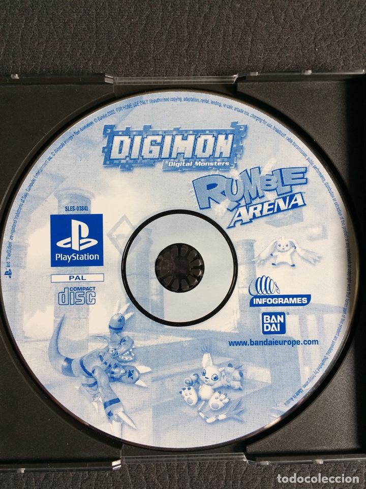 Videojuegos y Consolas: Juego Digimon Digital Monsters Rumble Arena - PS1 - Playstation 1 - sin instrucciones - Foto 2 - 120117708
