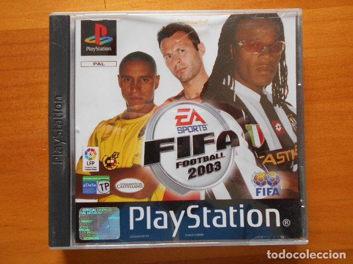 PS1 FIFA FOOTBALL 2003 - PAL ESPAÑA - PLAYSTATION (BB) (Juguetes - Videojuegos y Consolas - Sony - PS1)