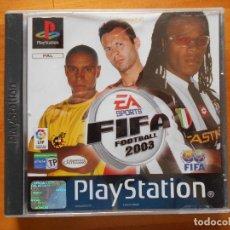 Videojuegos y Consolas: PS1 FIFA FOOTBALL 2003 - PAL ESPAÑA - PLAYSTATION (BB). Lote 120339843