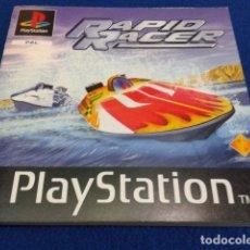 Videojuegos y Consolas: SONY PLAYSTATION SOLO MANUAL INSTRUCCIONES PARA PS1. PSX ( RAPID RACER ) 1996 . Lote 120565539