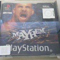Videojuegos y Consolas: JUEGO PSX PLAY 1 MAYHEM. Lote 120933475