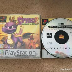 Videojuegos y Consolas: SPYRO 2 GATEWAY TO GLIMMER PSX PS1 PLAYSTATION 1 PLAY STATION ONE KREATEN. Lote 121388623