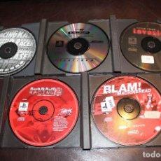 Videojuegos y Consolas: LOTE DE 5 JUEGOS PLAYSTATION PS1. Lote 121482979