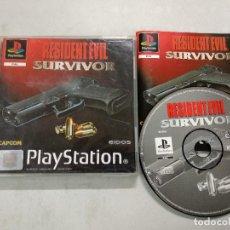 Videojuegos y Consolas: RESIDENT EVIL SURVIVOR - PSX PS1 - PLAYSTATION PLAY STATION - PAL ESP. Lote 121593983
