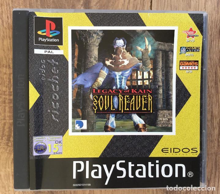 LEGACY OF KAIN : SOUL REAVER PLAYSTATION 1 ( SIN INSTRUCCIONES ) PAL (Juguetes - Videojuegos y Consolas - Sony - PS1)
