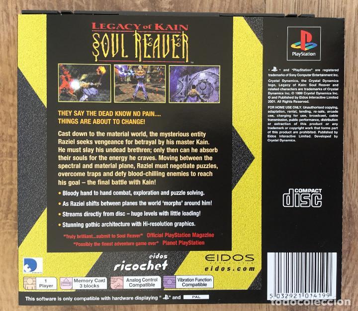 Videojuegos y Consolas: Legacy of kain : SOUL REAVER Playstation 1 ( Sin instrucciones ) PAL - Foto 2 - 121646871