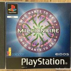 Videojuegos y Consolas: QUIEN QUIERE SER MILLONARIO - PLAYSTATION 1 ( CON INSTRUCCIONES ) PAL EN INGLÉS. Lote 121737587