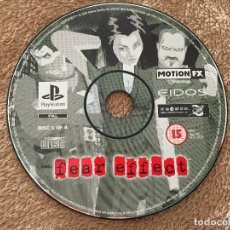 Videojuegos y Consolas: FEAR EFFECT CD 1 OF 4 - PSX PS1 PLAYSTATION 1 PLAY STATION ONE KREATEN. Lote 122924147