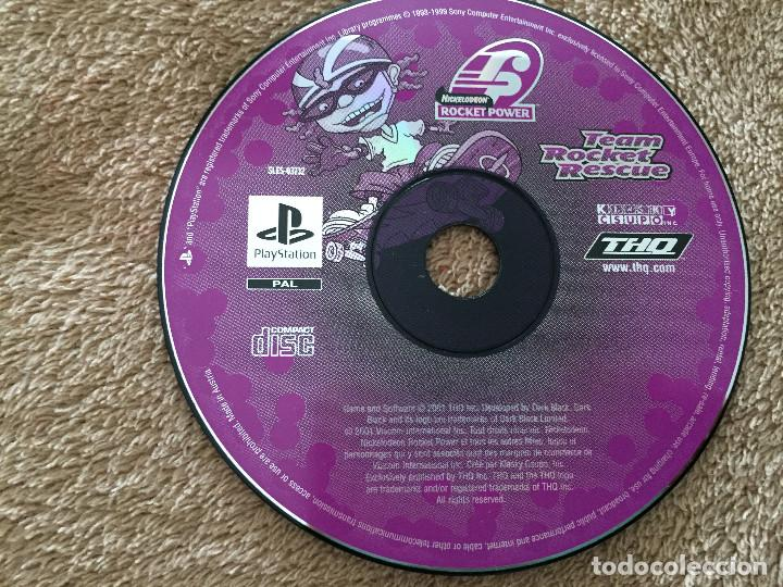 RUGRATS TEAM ROCKET RESCUE THQ - PSX PS1 PLAYSTATION 1 PLAY STATION ONE  kreaten