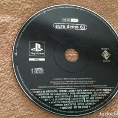Videojuegos y Consolas: EURO DEMO 63 - PSX PS1 PLAYSTATION 1 PLAY STATION ONE KREATEN. Lote 123046423