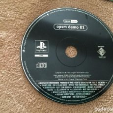 Videojuegos y Consolas: OPSM DEMO 81 - PSX PS1 PLAYSTATION 1 PLAY STATION ONE KREATEN. Lote 123046511