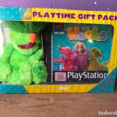 Videojuegos y Consolas: SONY PLAYSTATION JIM HENSON'S THE HOOBS PLAYTIME GIFT PACK - NUEVO. Lote 124259102