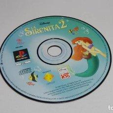 Videojuegos y Consolas: LA SIRENITA 2 ( JUEGO PS1 - PSX - PAL - ESPAÑA). Lote 124661943