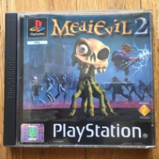 Videojuegos y Consolas: JUEGO MEDIEVIL 2, PLAYSTATION 1, LOMO NEGRO EN CASTELLANO. Lote 125125107