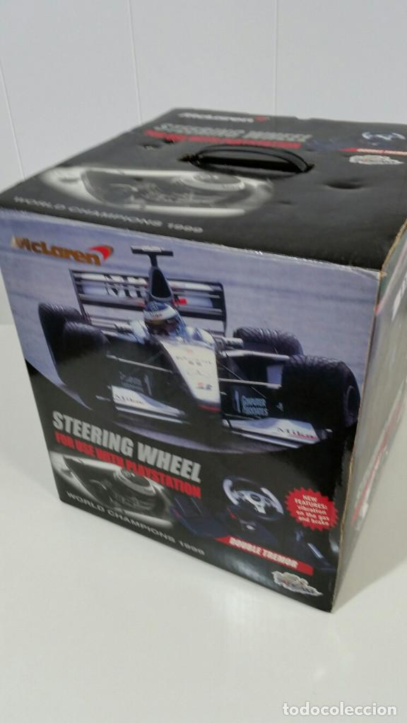 MCLAREN STEERING WHEEL PARA PLAYSTATION (Juguetes - Videojuegos y Consolas - Sony - PS1)