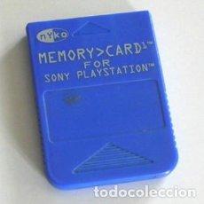 Videojuegos y Consolas: MEMORY CARD FOR SONY PLAYSTATION - MYKO - TARJETA DE MEMORIA PARA PLAY STATION -. Lote 126133255