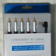 Videojuegos y Consolas: CABLE AV PARA PSP, PLAYSTATION (EI). Lote 126509559